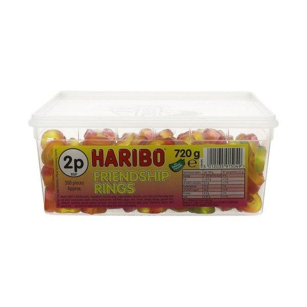 Haribo Friendship Rings 프렌드십 링 젤리300개입 상품이미지