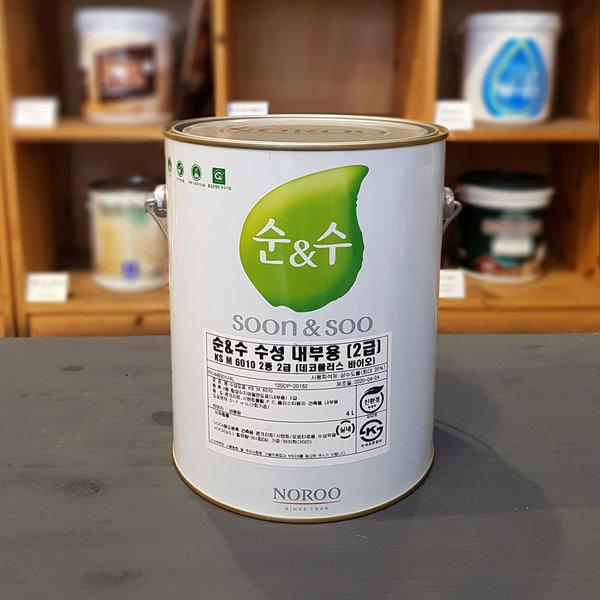 방균 순앤수 벽지 베란다 냄새NO 곰팡이방지 4L 상품이미지