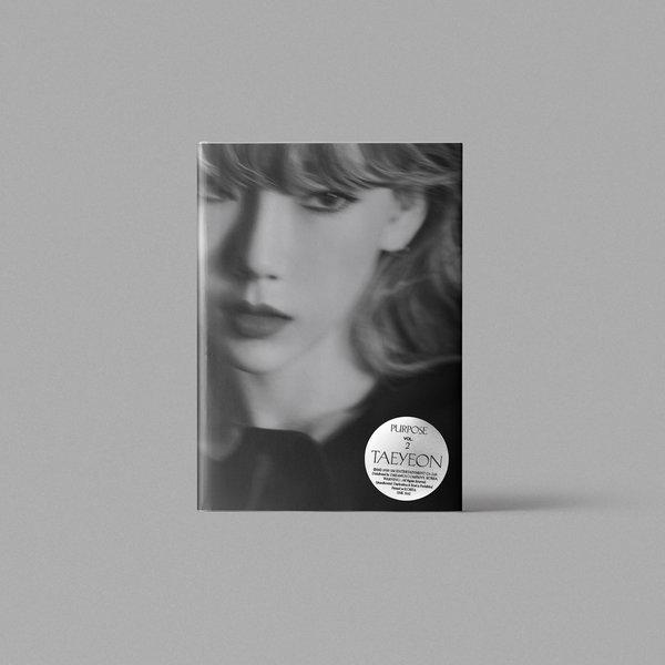 태연(TAEYEON) - 정규2집 Purpose (버젼랜덤출고)포스터 지관통 제공 상품이미지