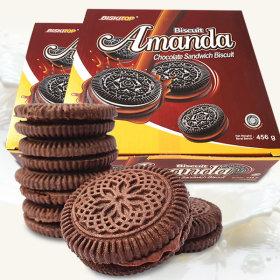 2박스(120개입) 아만다 초코크림샌드
