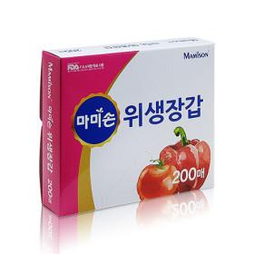 마미손 위생장갑 2호 200매