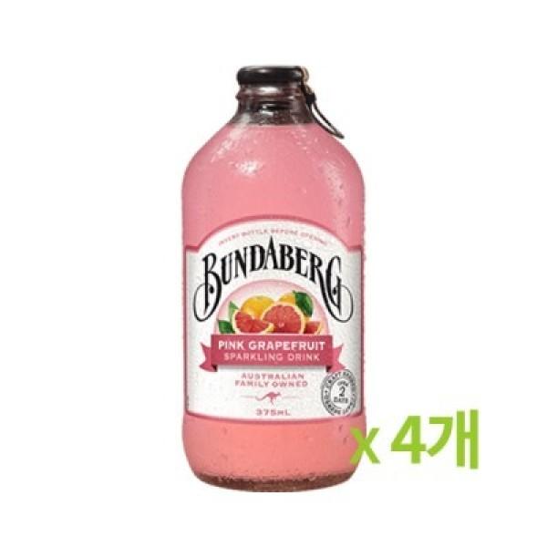 분다버그 핑크자몽 375ml 4개묶음 (877112) 상품이미지