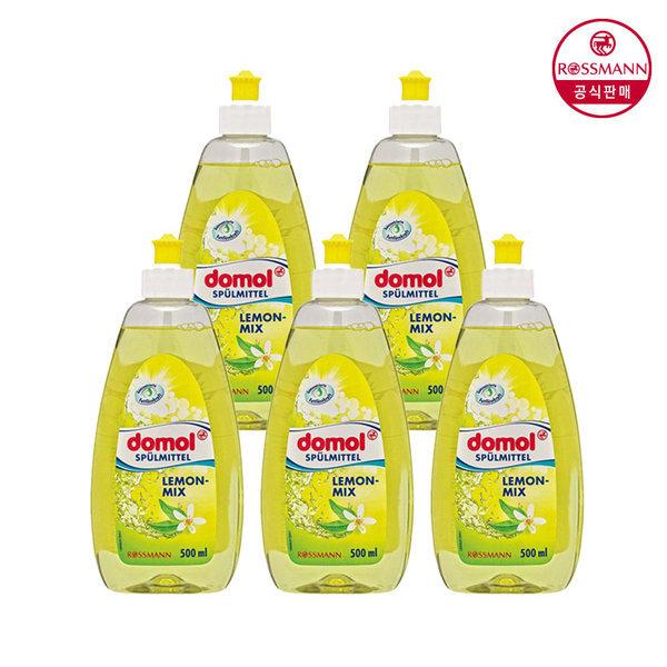 도몰 레몬 믹스 주방세제 500ml x5개 상품이미지