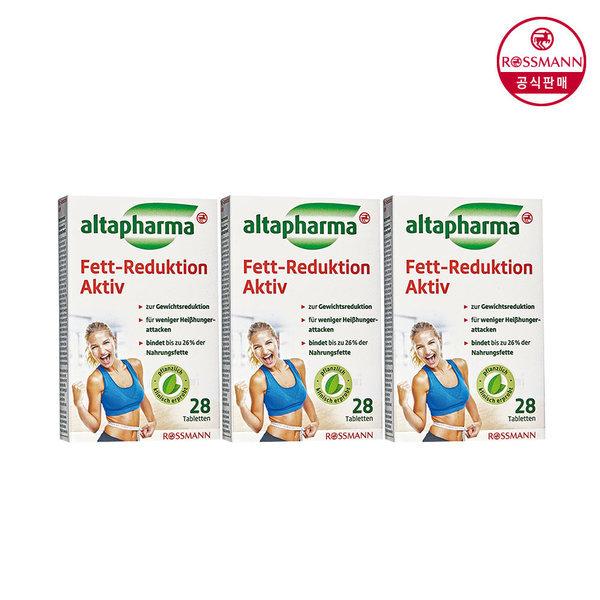 알타파마 체지방 감소제 28정 x3개 상품이미지