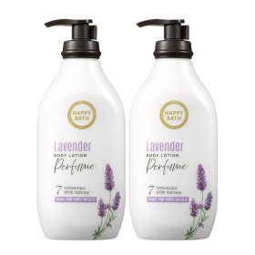 Happy Bath/Lavender/Moisture/450ML/X2