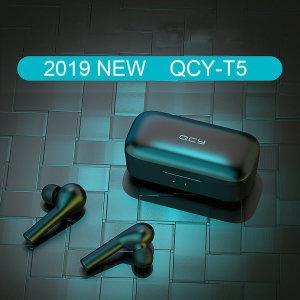 샤오미 상품명 QCY-T5블루투스 5.0무선 이어폰 QCY T5