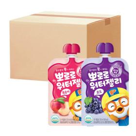 뽀로로 워터젤리 복숭아 10팩+포도 10팩