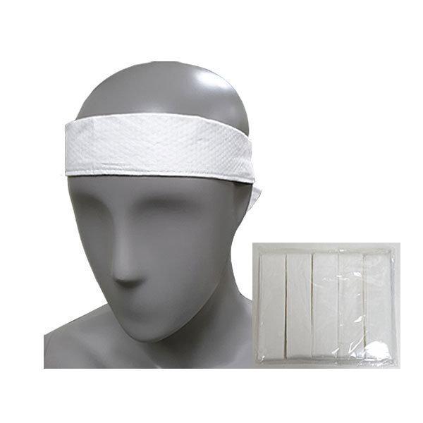 땀 흡수 머리띠 면소재 10개입 백색 땀패드 땀밴드 상품이미지