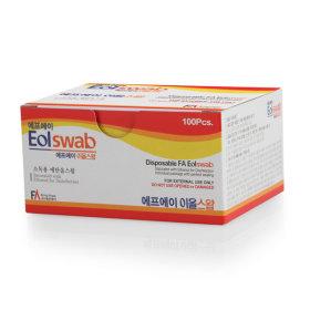 에프에이 소독용 알콜솜 이올스왑 100매x5팩 개별포장