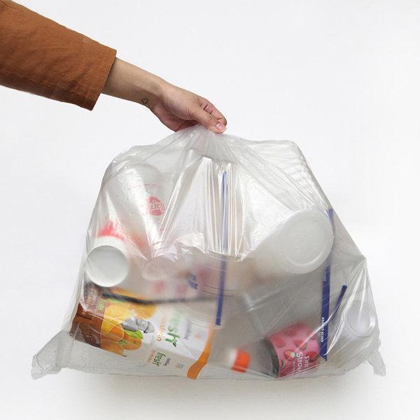 분리수거 비닐봉투 40L 쓰레기 봉투 재활용 100매 상품이미지
