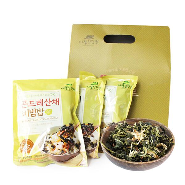 간편 비빔밥 나물 선물세트 (시래기/곤드래/산채)x2 상품이미지