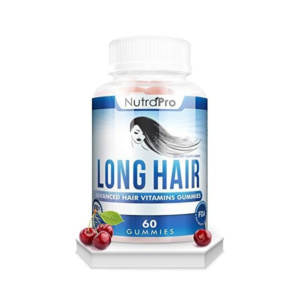 해외쇼핑/Long Hair Gummies  Anti-Hair Loss Supplement for Fast Hair Growth of Weak  Thinning Hair  G 상품이미지