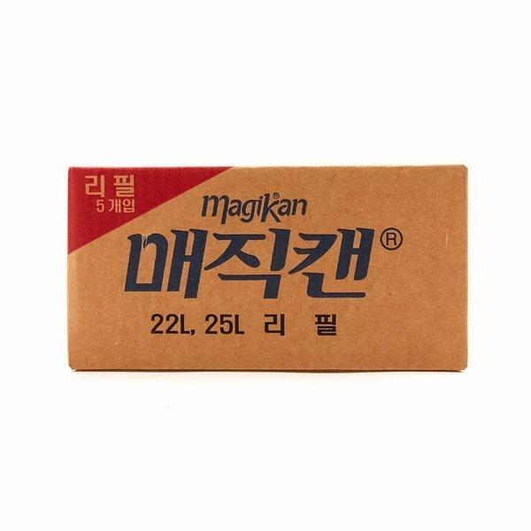 -매직캔- 리필봉투 280R5B 기저귀 휴지통 리필 상품이미지
