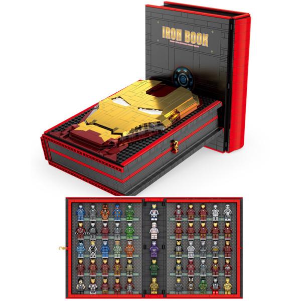 레고호환 어벤져스 아이언맨북52개 미니피규어 상품이미지