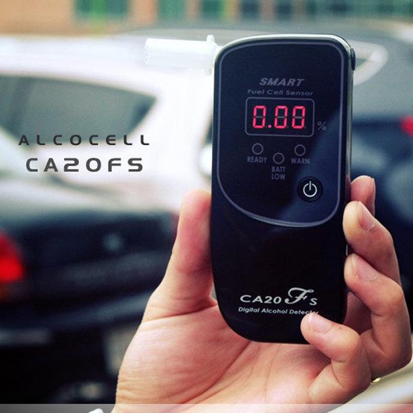 알코셀 전문가용 음주측정기 CA20FS 휴대용 알콜측정 상품이미지