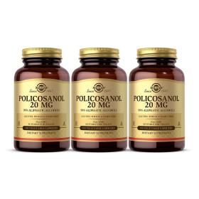3개 폴리코사놀 20 mg 100 베지 캡슐 Solgar 빠른직구