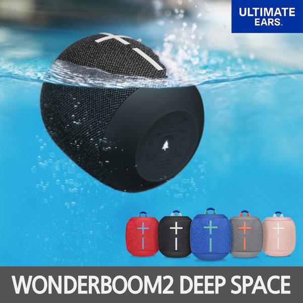 WONDERBOOM2 블루투스 스피커 블랙 엔비13용 상품이미지
