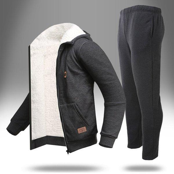 (루찌)  루찌  겨울용 MZ-사각양털(기모세트) 트레이닝복세트 상품이미지
