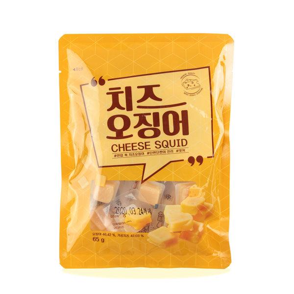 한입 쏙 치즈 오징어 65g 1봉 상품이미지