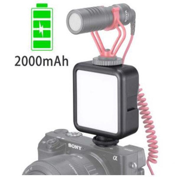 해외  미디어프로  VL49 미니 내장형 배터리 LED 상품이미지