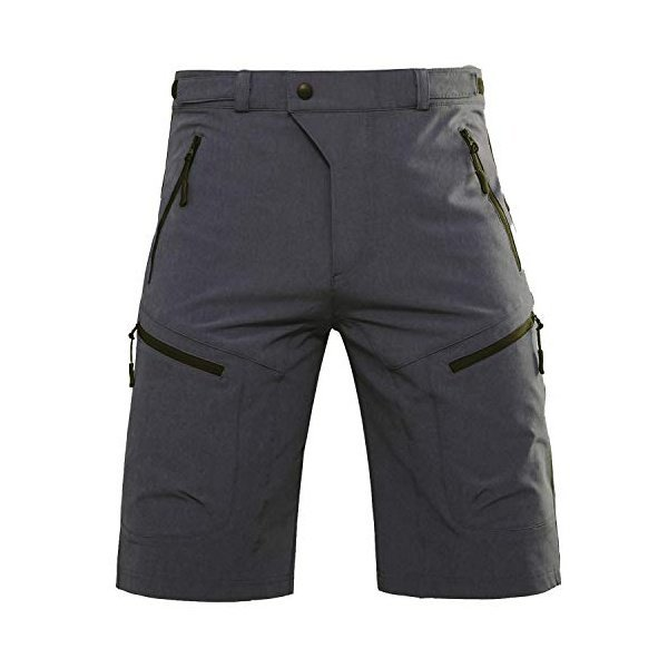 해외쇼핑/Hiauspor Mens MTB Shorts Mountain Bike Shorts Water Repellent Baggy Half Pants with Pockets 상품이미지