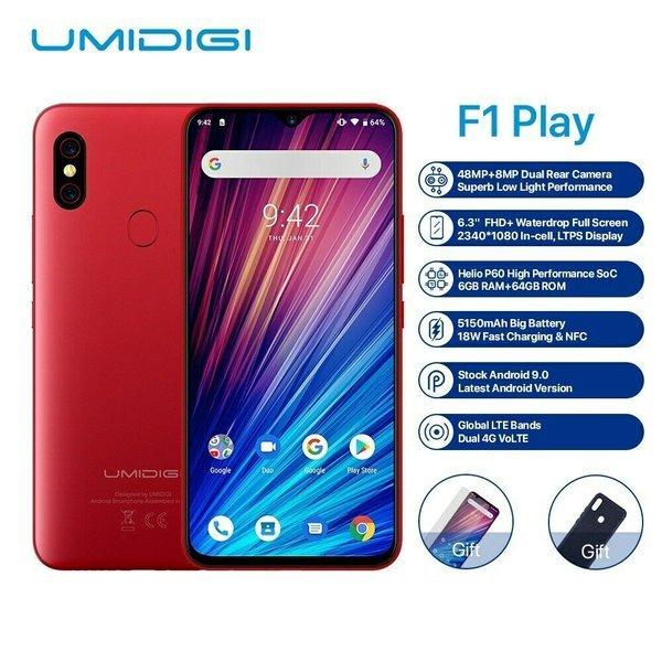UMIDIGI F1 듀얼 4G 스마트 폰 상품이미지