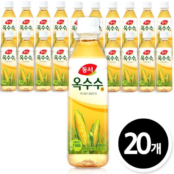 동서 식수음료 옥수수차 500mlx20페트/음료수/물/생수 상품이미지