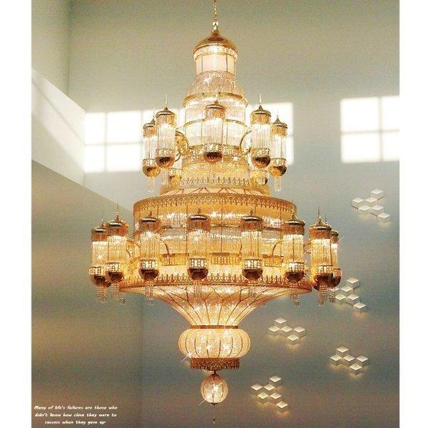 트윙클조명 아레스 대형 샹들리에(골드) 주문품 상품이미지