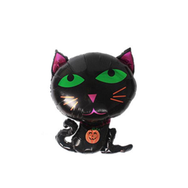 검은고양이 풍선 할로윈 스페셜풍선 파티용품 상품이미지