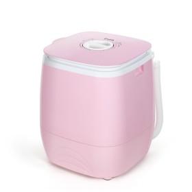 이노크 미니세탁기/탈수기/헹굼/원룸/소형 3kg 핑크