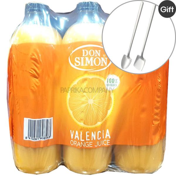 돈시몬 착즙 오렌지 주스 1L X 6개 쥬스 과일음료 상품이미지