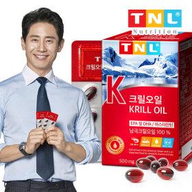 TNL 티앤엘 크릴오일 1개월분 x 2개 / 청정 남극지역
