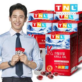 TNL 티앤엘 크릴오일 1개월분 x 3개 / 청정 남극지역