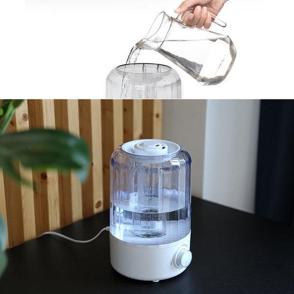 듀플렉스 초음파가습기/2.5리터/손쉬운통세척/710UH 상품이미지
