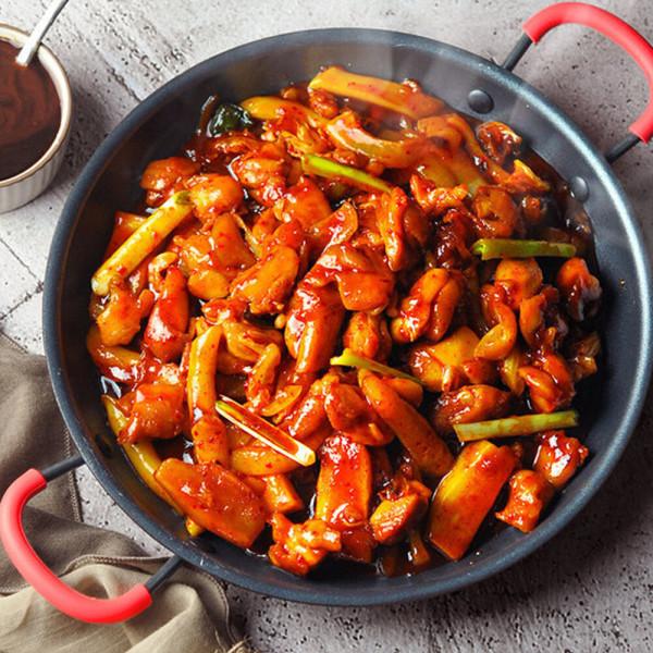 춘천 식 숯불 닭갈비 750g x 2봉 +떡사리300g(사은품) 상품이미지