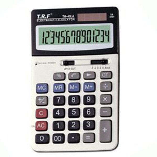 (TA-40LA)전자계산기/사무용 계산기/중형(14자리) 상품이미지