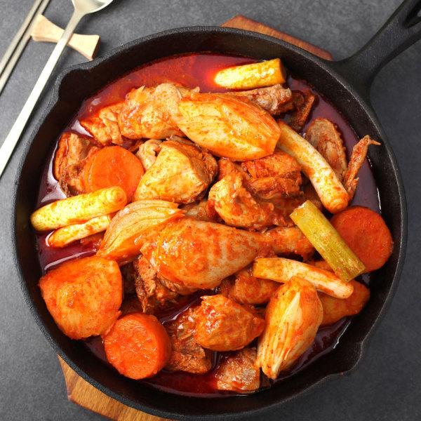 남도장터/믿음식품 미드미 닭볶음탕 1.3kg 상품이미지