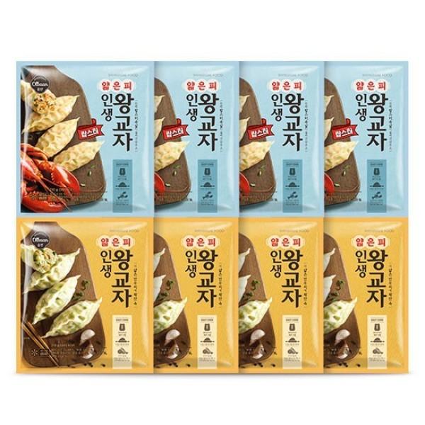 신세계푸드  올반 인생랍스타210g4봉+ 왕교자210g4봉 상품이미지