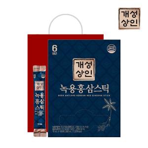 [개성인삼농협]개성상인 녹용홍삼스틱 10ml 100포 /쇼핑백 증정