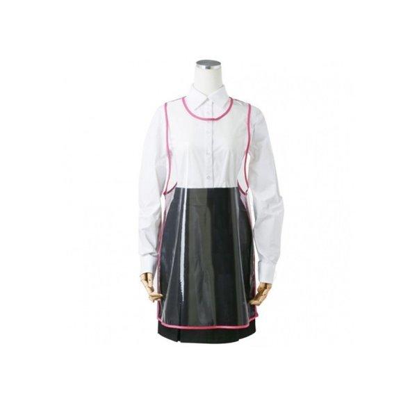 요들가운 칼라백메쉬앞치마YA-032미용가운 핑크 상품이미지