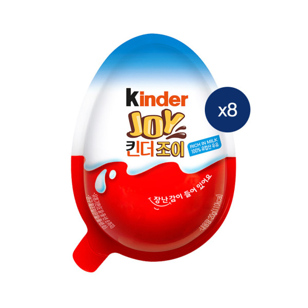 킨더조이 T1 8개/초콜릿/초콜렛 /행복한도시 상품이미지