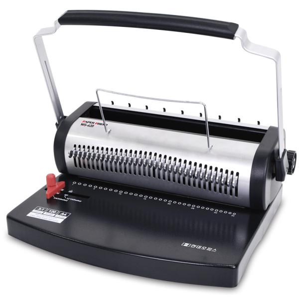 3종 와이어링제본기 WS-820 스프링제본기 제본링+표지 상품이미지
