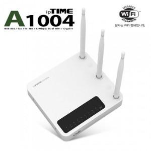 EFM네트웍스 ipTIME A1004 유무선공유기 (4포트/유선1Gbps/무선433Mbps)