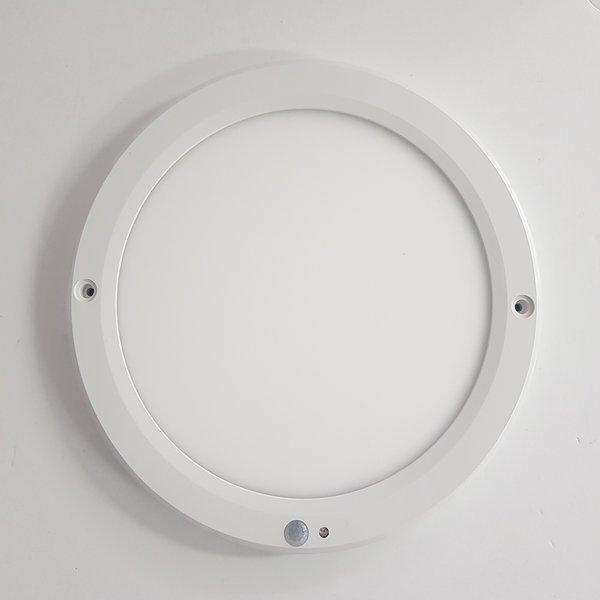 LED 원형 엣지 센서등 20W 주광색/베란다 조명/복도등 상품이미지