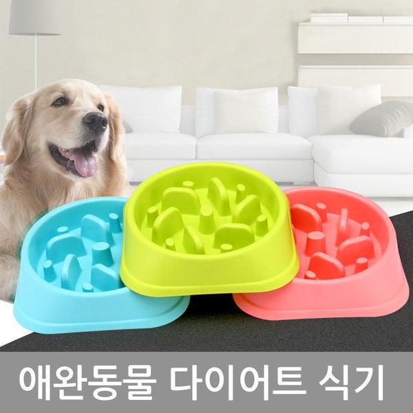 애완동물 다이어트식기/애완식기/밥그릇/반려동물식기 상품이미지