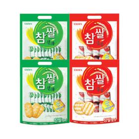 참쌀 선과 253g(44봉)X2개  + 참쌀설병270g(30봉)X2개