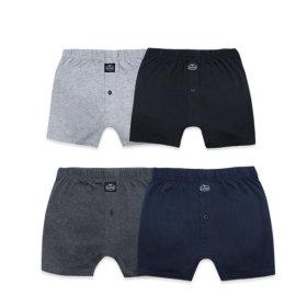 남성 참 편한 니트 트렁크/남자속옷/팬티 4종세트