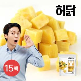 [허닭] 아이스 고구마 큐브 100g 15팩