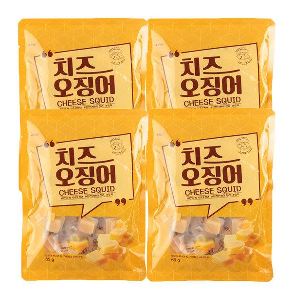 코스트코 한입 쏙 치즈오징어 65g 4봉 스배행사 상품이미지