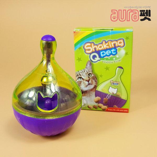 반려묘 간식볼 방울소리 반자동 놀이기구 장난감 상품이미지